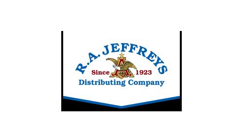 RA Jeffreys Distributing Company Logo
