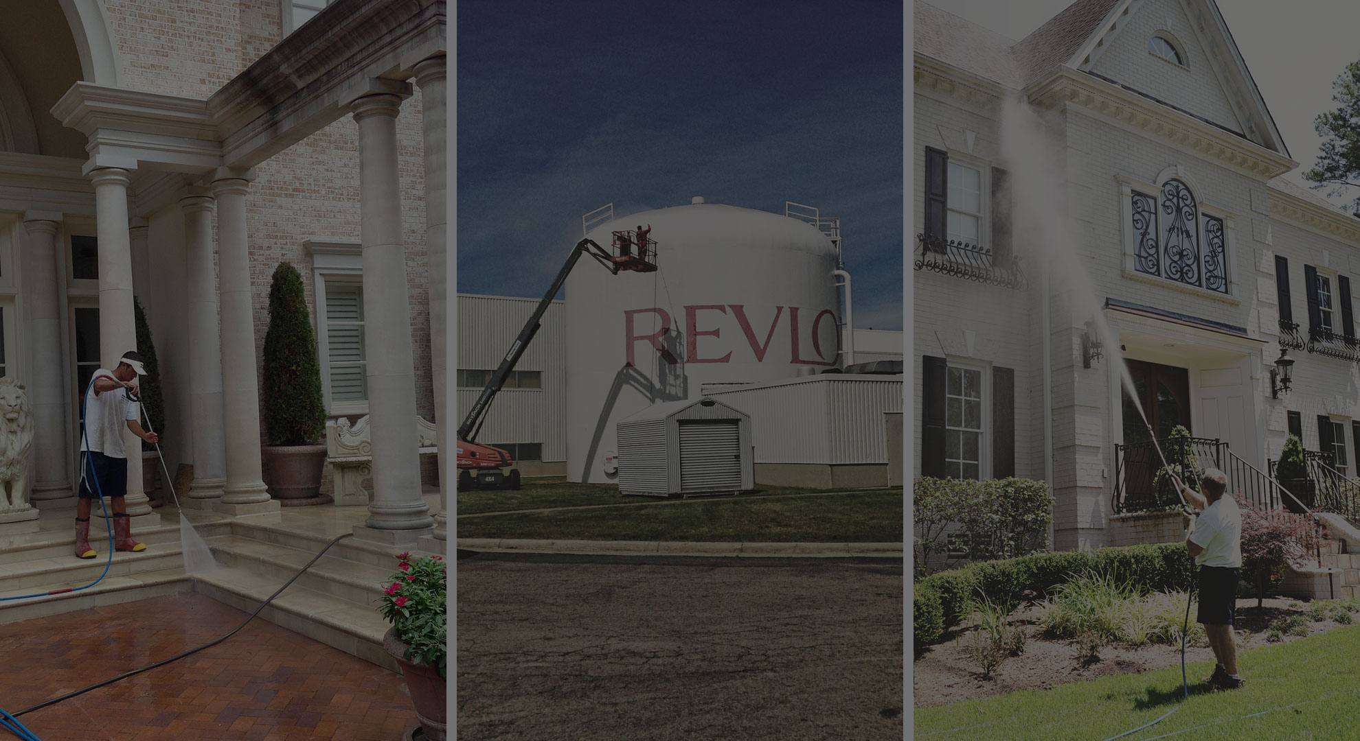 Power Washing Revlon