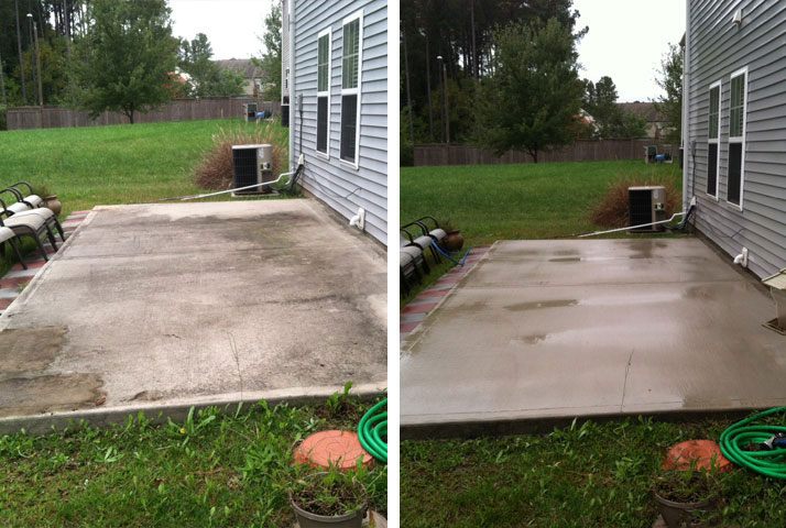 Patios can look easily look disgusting after only a few months.