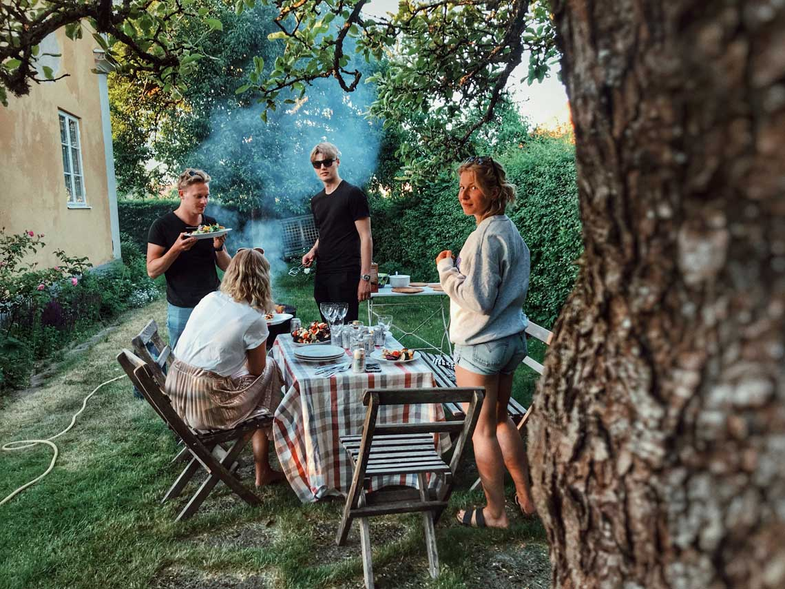 Blue Wave Pressure Washing lets you enjoy your summer cookout without all the work of pressure washing.