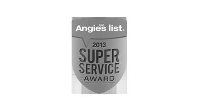 Angie's List 2013 Super Service Award