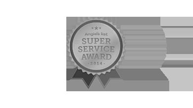 Angie's List 2014 Super Service Award