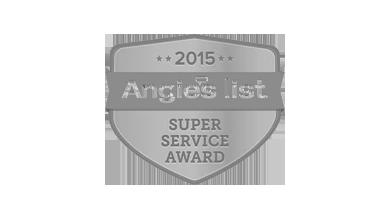 Angie's List 2015 Super Service Award