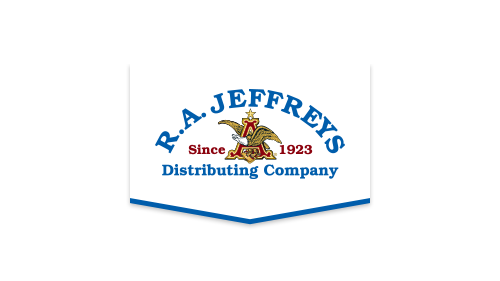 RA Jeffreys Distributing Company Logo