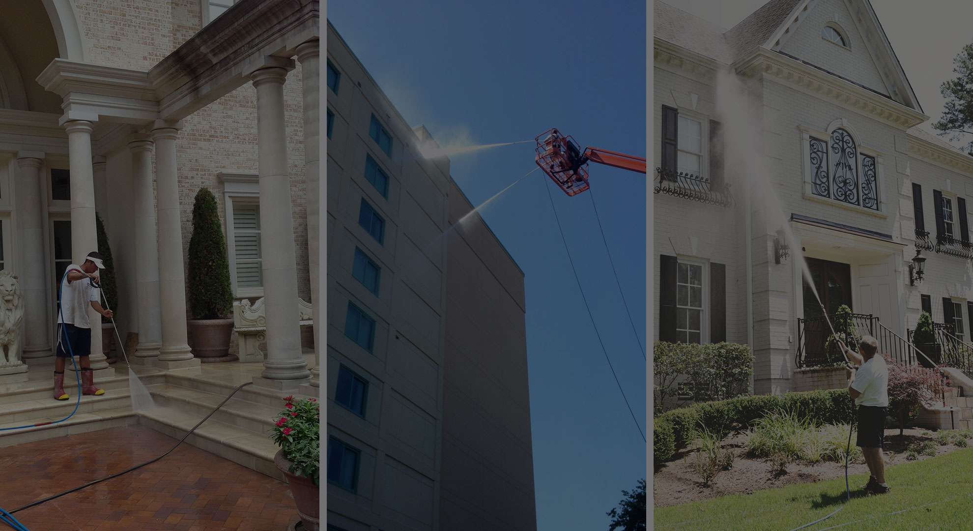 Pressure Washing Raleigh Commercial